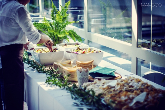 mamboo catering konferencja uw delab