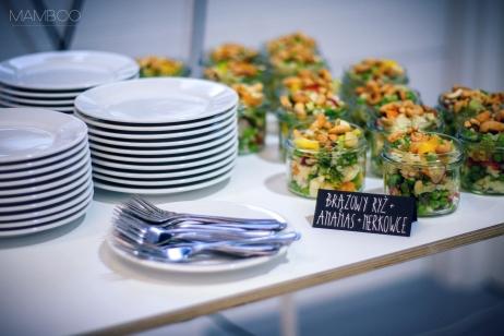 mamboo catering schwarzkopf stylizacja event konferencja prasowa